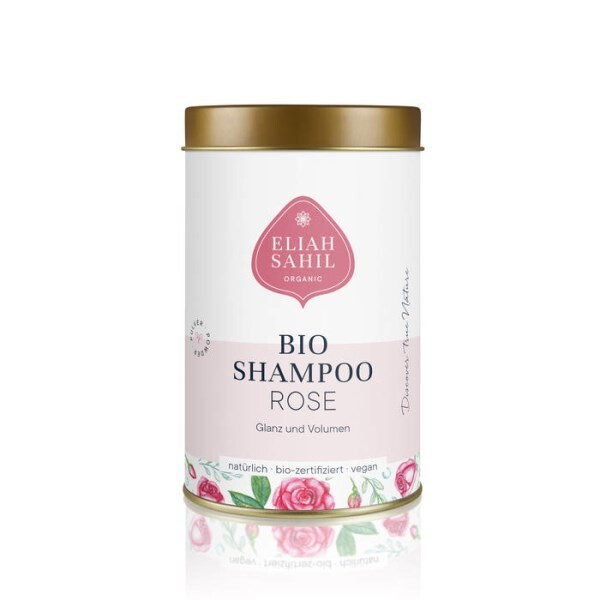 LOGO_ORGANIC POWDER SHAMPOO ROSE FOR WET HAIR WASH