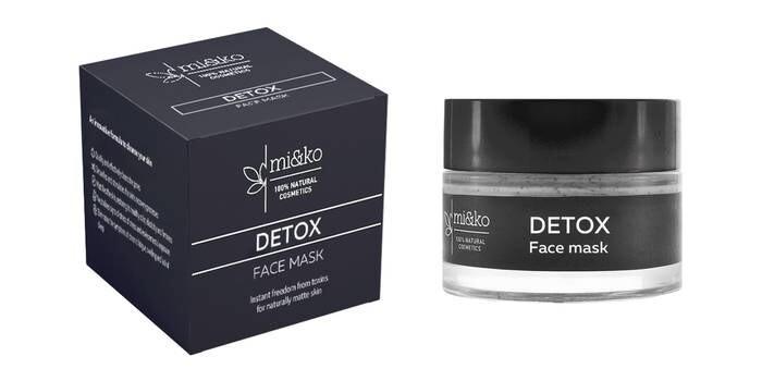 LOGO_Gesichtsmaske DETOX. Sofortige Freiheit von Toxinen für natürlich matte Haut