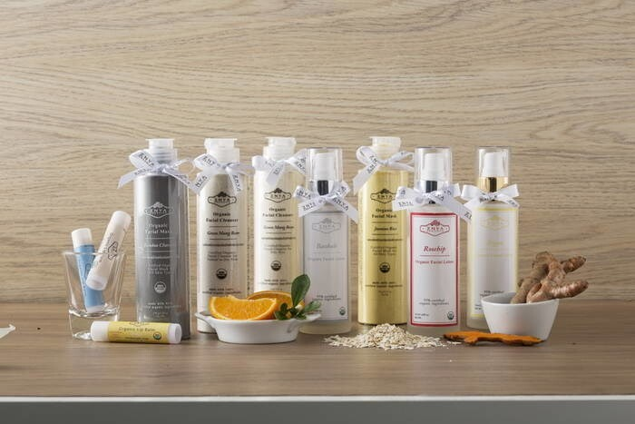 LOGO_Certified Organic Facial products