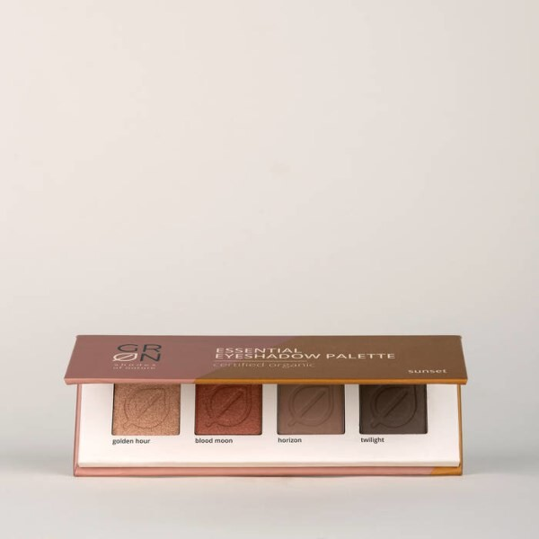 LOGO_GRN Essential Eyeshadow Palette sunset
