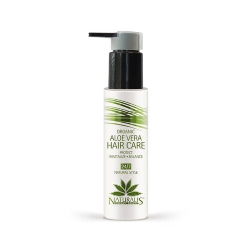 LOGO_Organic Aloe Vera HAIR CARE Protect -Revitalize - Balance - 24/7 Natural Style