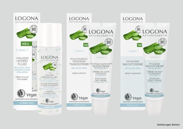 LOGO_LOGONA [classic] MOISTURIZING CARE with Organic Aloe Vera
