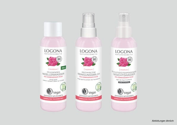 LOGO_LOGONA [moisture] FACE CLEANSING with Organic Damask Rose
