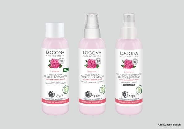LOGO_LOGONA [moisture] GESICHTSREINIGUNG mit Bio-Damaszener Rose
