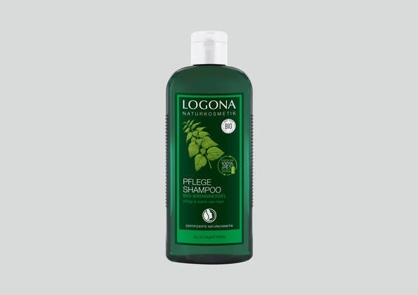 LOGO_LOGONA SHAMPOOS with sustainable packagings