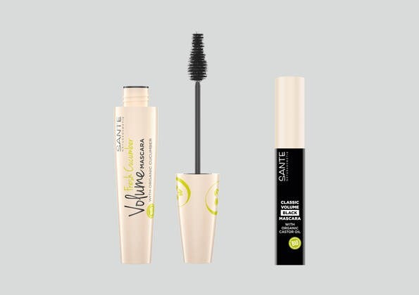 "LOGO_Fresh Cucumber Volume Mascara und Classic Volume Mascara ""black"""