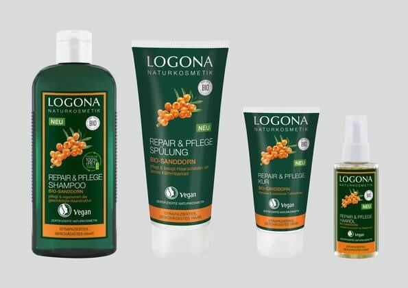 LOGO_LOGONA REPAIR & PFLEGE HAARPFLEGE-SERIE mit Bio-Sanddorn