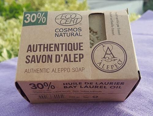 """LOGO_Authentic Aleppo soap """"Alepeo30"""""""