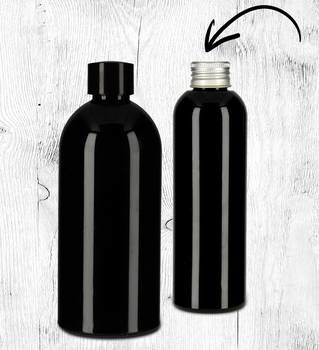 LOGO_Cosmetic bottles - PET or rPET (recycled PET)