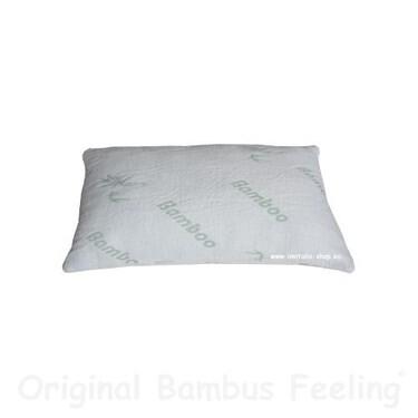 LOGO_Bambus Kissen - 55x35cm passend für 60x40 Bezüge