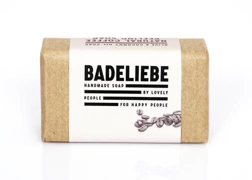 LOGO_BADELIEBE neue Düfte: Natural Coffee Peeling Soap