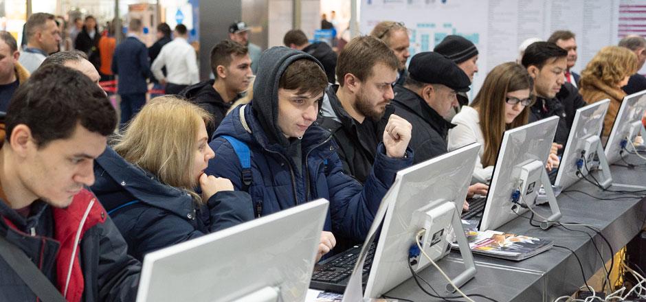 Beviale Moscow - Registration desks