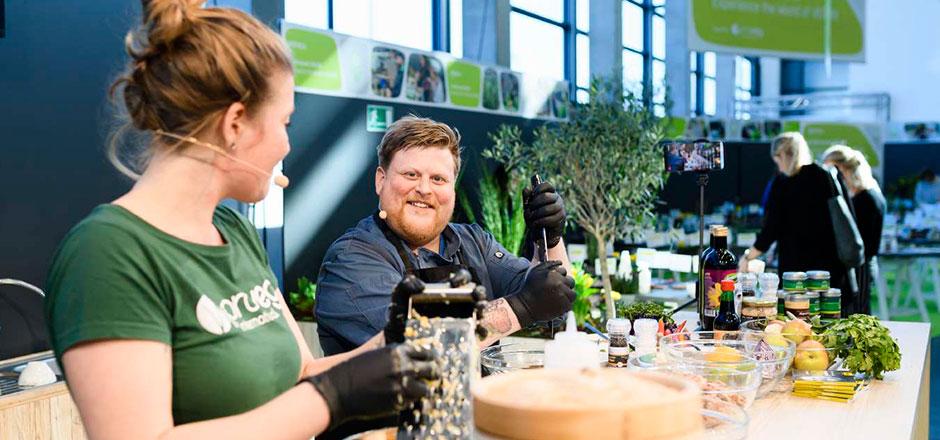 Rückblick BIOFACH 2019 - Kochshow Vegan