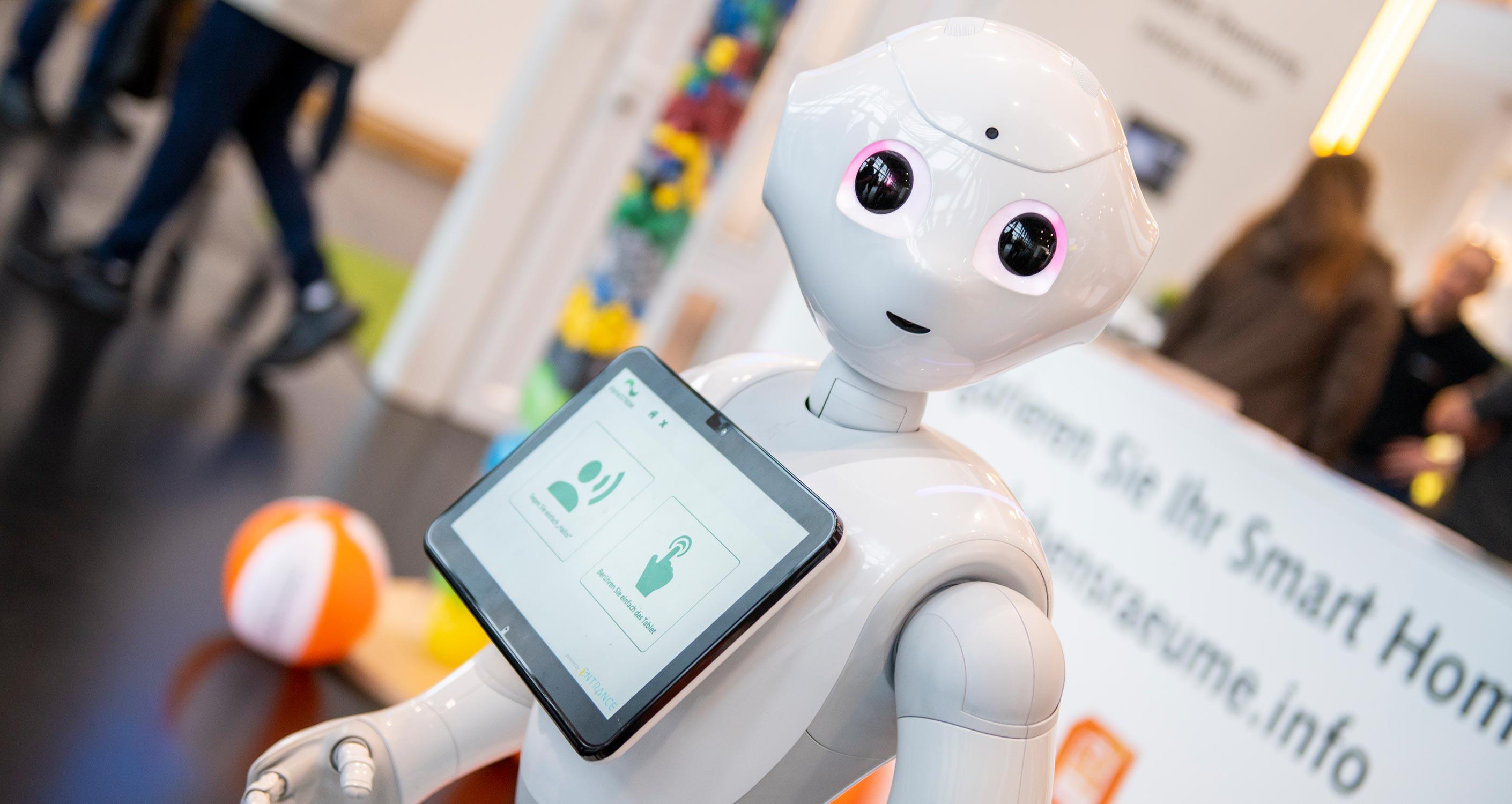 Rückblick eltec 2019 - Robot