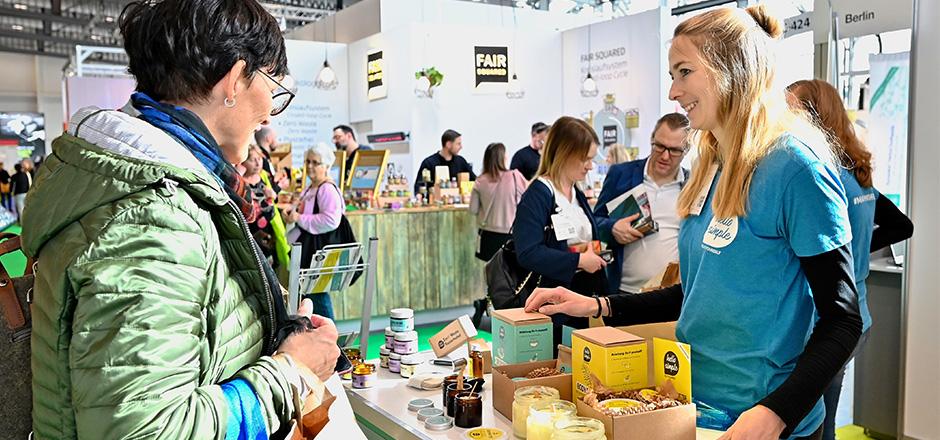 Rückblick VIVANESS 2020 - young innovative companies pavillion