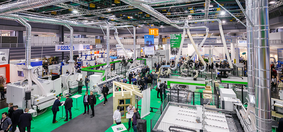 Review Holz-Handwerk 2018 - Machinery