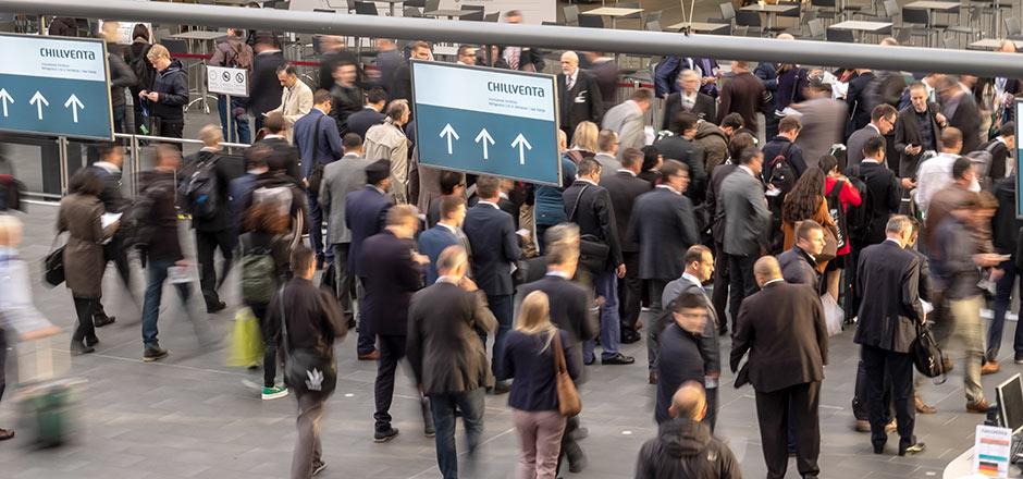 Chillventa Rückblick 2018 - Eingang Mitte