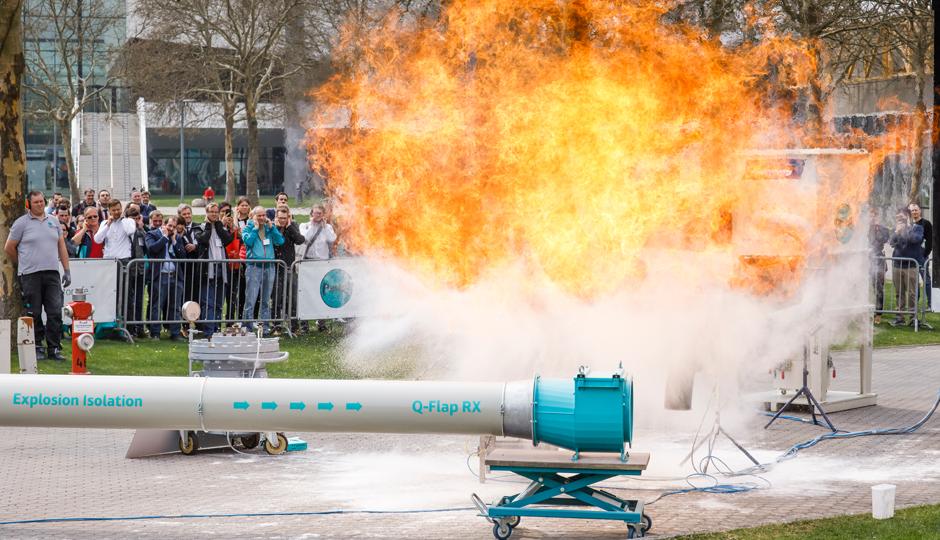POWTECH 2019: Live Explosion