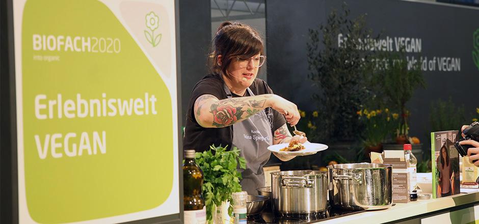 Review BIOFACH 2020 - vegan cooking