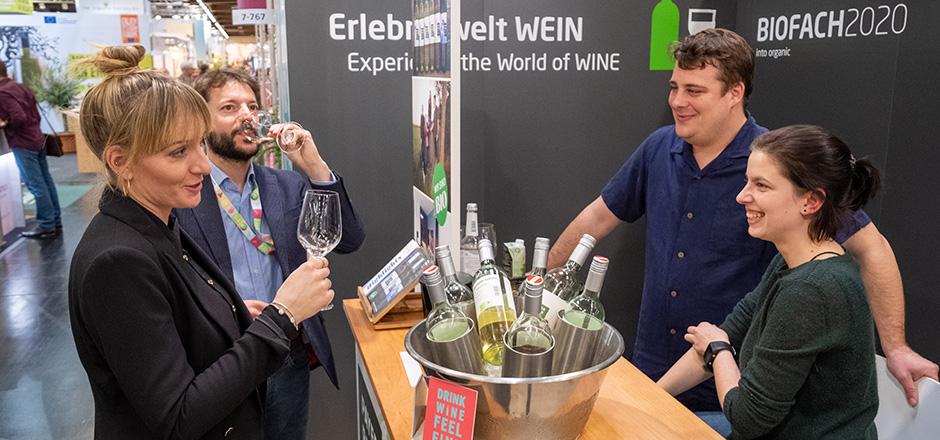 Rückblick BIOFACH 2020 - Erlebniswelt Wein
