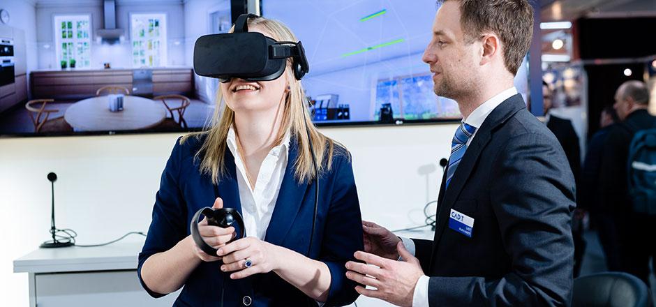 Rückblick Holz-Handwerk 2018 - Virtual Reality