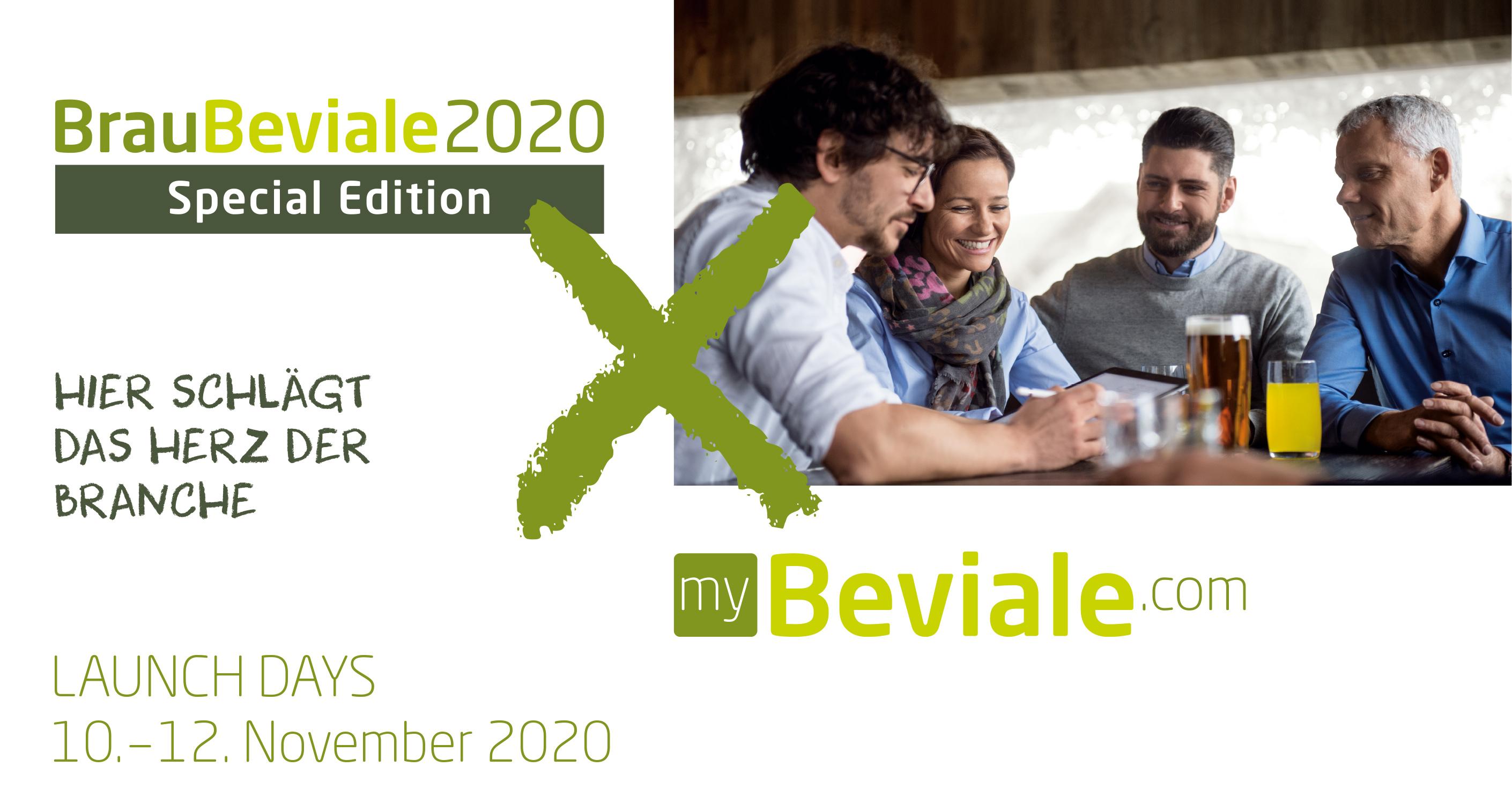 Header BrauBeviale Special Edition 2020 meets myBeviale.com