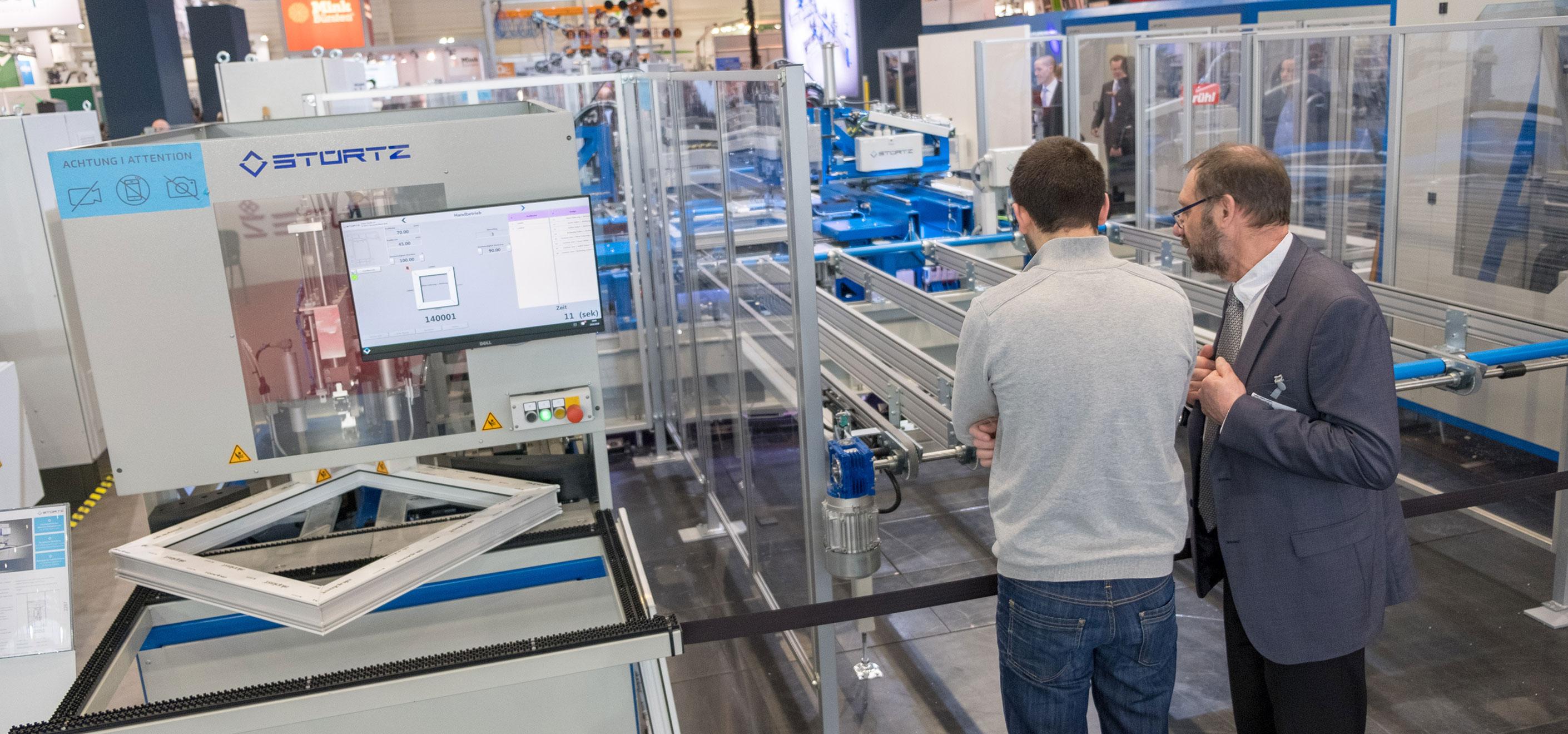 Rückblick FENSTERBAU FRONTALE 2019 - Produktionsmaschine