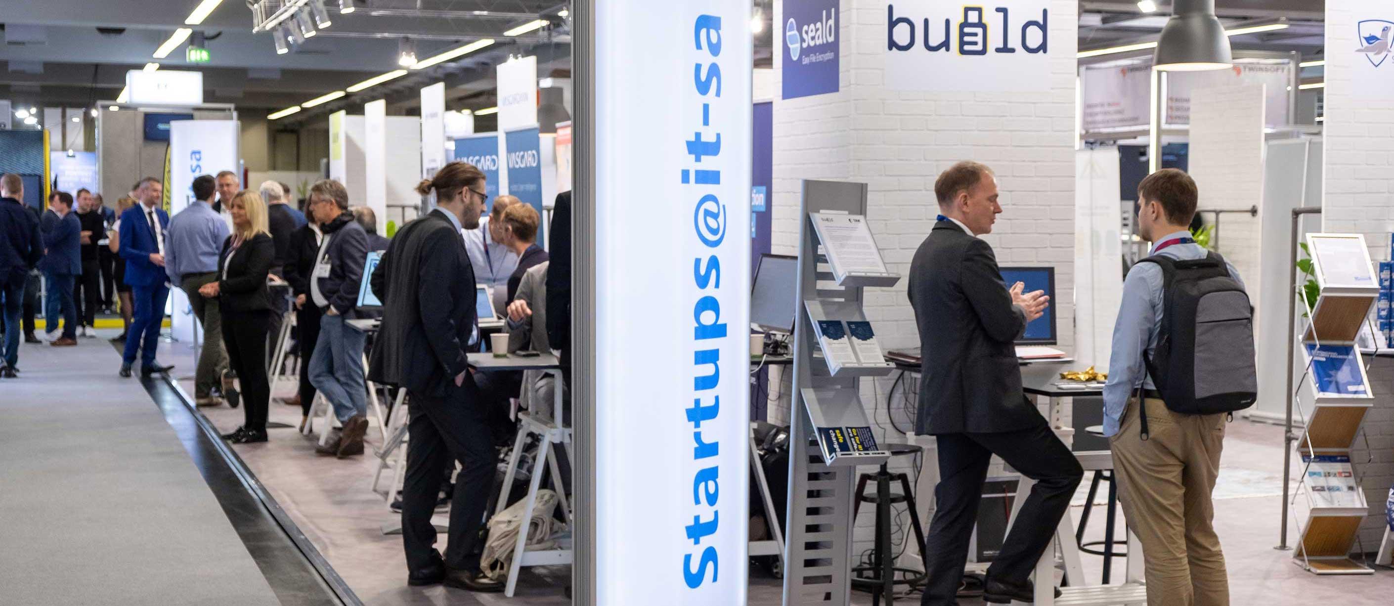Rückblick it-sa 2019 - StartUps