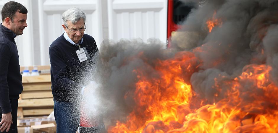 FeuerTrutz 2019 - Extinguishing system