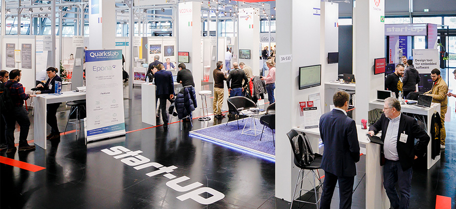 Rückblick embedded world 2020 - start up Area