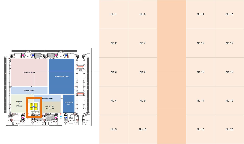 Floor Plan Biofach Japan