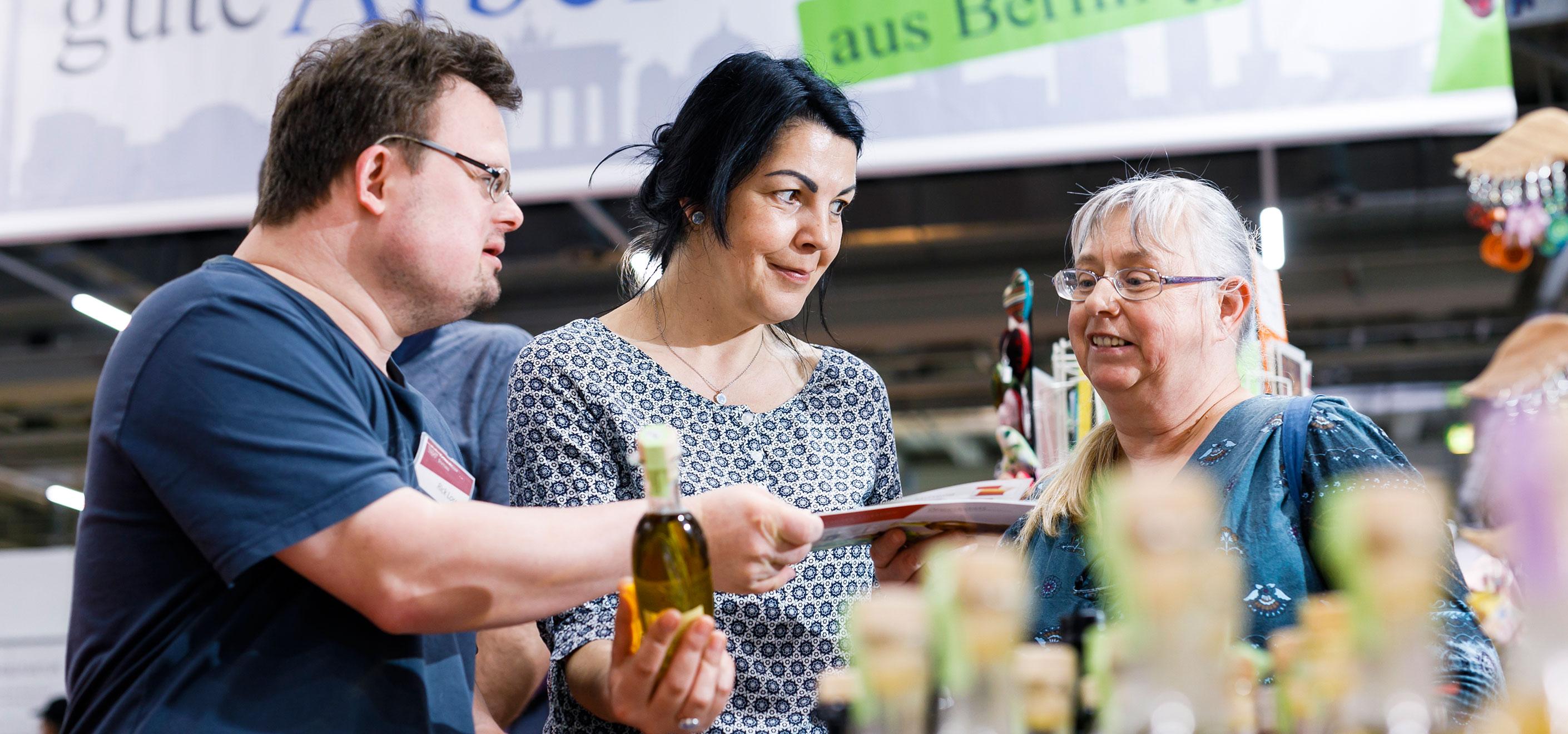 Rückblick Werkstätten:Messe 2020 - Sprachrohr