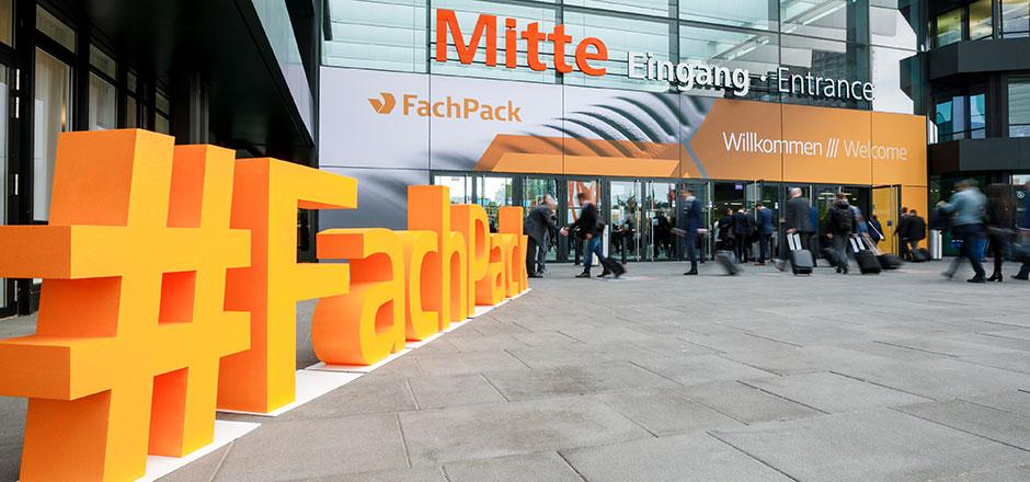 Rückblick FACHPACK 2019- Eingang