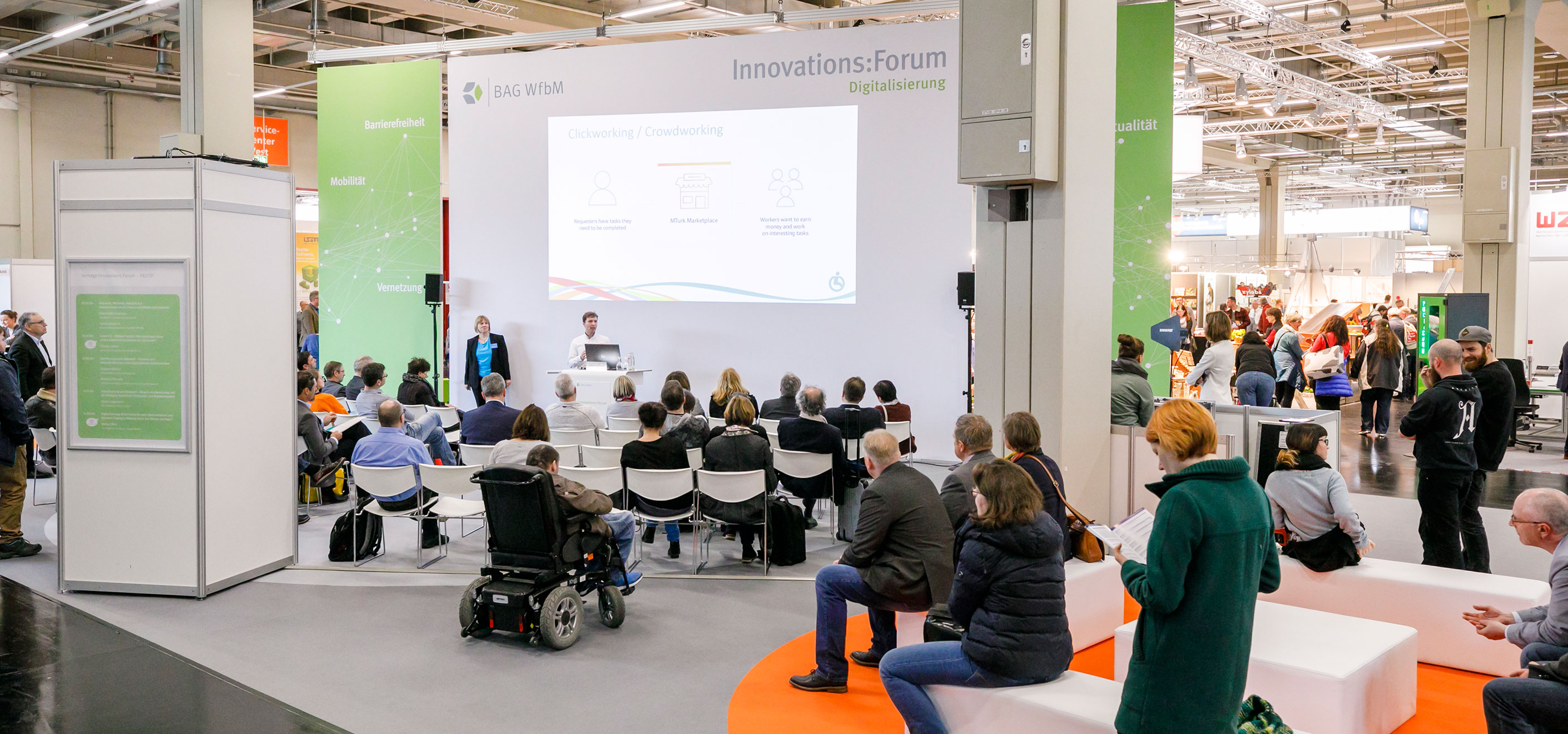 Rückblick Werkstätten:Messe 2020 - Innovations:Forum