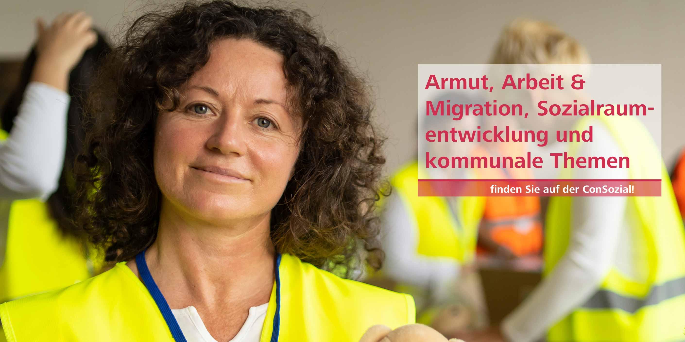 Armut, Arbeit & Migration, Sozialraumentwicklung und kommunale Themen