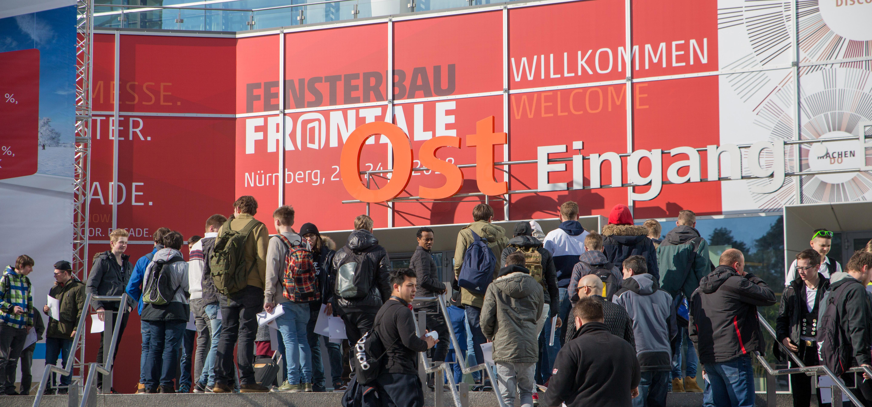 Rückblick FENSTERBAU FRONTALE 2019 - Eingang